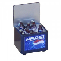 (**) Dollhouse Cooler Box With Bottles- Choice of Style - - Product Image