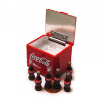 (*) Dollhouse Cooler Box With Bottles- Choice of Style - - Product Image