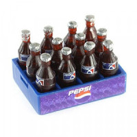 (*) Dollhouse Crate With Loose Bottles- Choice of Style - - Product Image