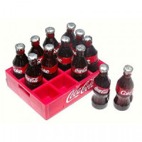 (**) Dollhouse Crate With Loose Bottles- Choice of Style - - Product Image
