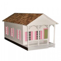 Shotgun House Dollhouse (Kit) - Product Image