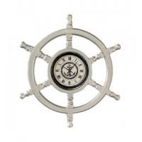 (*) Helmsmans Wheel Clock - Product Image