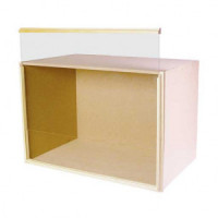 9 Inch Deep Room Box Kit, Unfinished - Product Image