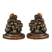Dollhouse Antique Bronze Bookends - Product Image