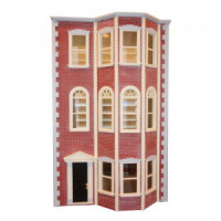 The Boston - Brownstone Dollhouse (Kit) - Product Image
