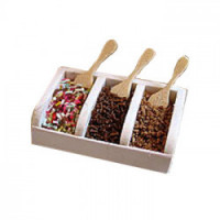 Dollhouse Ice Cream Sundae Topper Countertop Tray(s) - Product Image