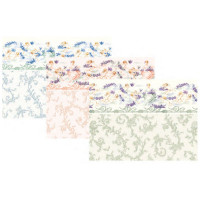 3 Shts - Dollhouse Symphony Wallpaper- Choice of Color - - Product Image