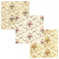 3 Shts - Roosevelt Wallpaper- Choice of Color - - Product Image