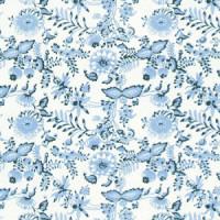 3 Shts - Dollhouse Chrysnbon Blue Onion Paper - Product Image
