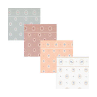 3 Shts - Dollhouse Cameo Paper- Choice of Color - - Product Image