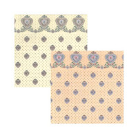 3 Shts - Dollhouse Petite Heart Paper- Choice of Color - - Product Image