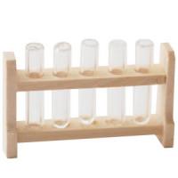 (*) Dollhouse Laboratory Test Tube Rack - Product Image