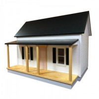 Country Cottage Dollhouse (Kit) - Product Image