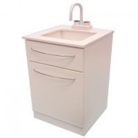 Dollhouse Dentist or Medical Sink Cabinet- Choice of Color - - Product Image