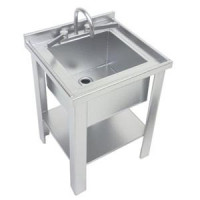 Dollhouse Silver Sink - Single - Product Image