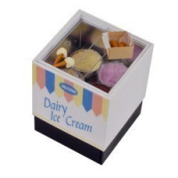 ( ) Dollhouse Ice Cream Display Cabinet - Small - Product Image