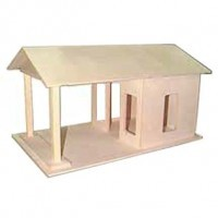 Dollhouse Gas Station (Kit) - Product Image
