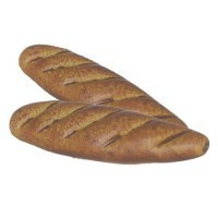 § Disc .60¢ Off - 2 Dollhouse French Baguettes - Product Image