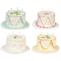 § Sale - Dollhouse Birthday Cake - Product Image