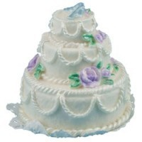 (*) Dollhouse Wedding Cake (Assorted) - Product Image