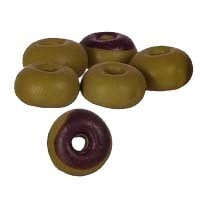 (*) Dollhouse 6 Chocolate Donuts - Product Image