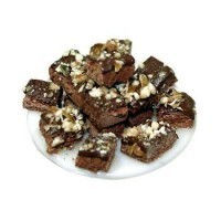 Dollhouse Plate of Brownies - Product Image