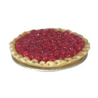 (**) Dollhouse Open Face Cherry Tart - Product Image