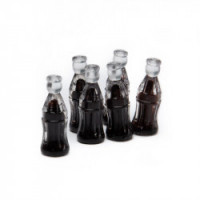 (**) Dollhouse 6 Soda Bottles - Product Image