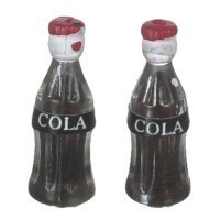 Dollhouse 2 pc Soda Bottles - Product Image