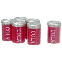 § Sale .40¢ Off - 6 pc Cola Cans - Product Image