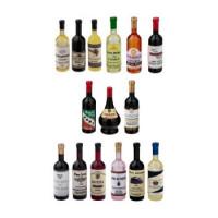Dollhouse Wine Bottle- Choice of Styles - - Product Image