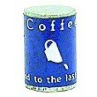 § Disc .30¢ Off - Dollhouse Can of Coffee - Product Image