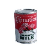 § Disc .40¢ Off - Dollhouse Carnation Milk Can - Product Image