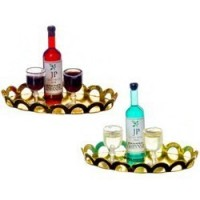 Dollhouse Wine Tray - Product Image