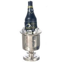 Champagne in Silver Bucket - Product Image