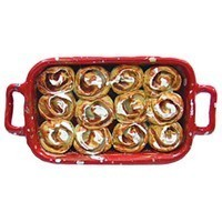 (*) Dollhouse Cinnamon Rolls in Pan - Product Image