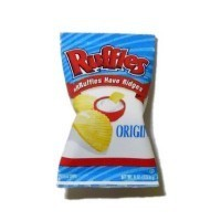 (*) Dollhouse Bag of Ruffles Potato Chips - Product Image