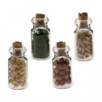 (*) Dollhouse 4 pc Spice Seed Jars - Product Image