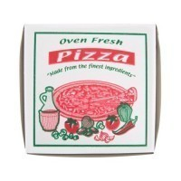 (*) Dollhouse Pizza Togo Box - Product Image