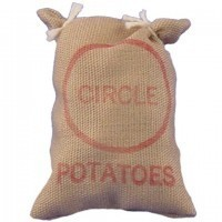 Dollhouse Large Bag of Potatoes - Product Image