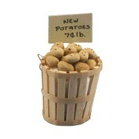 Dollhouse Filled Store Basket - New Potatoes - Product Image