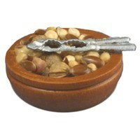 Dollhouse Bowl of Nuts - Product Image