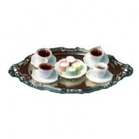 Coffee & Petit Four Tray - Product Image