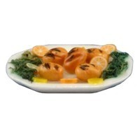 Dollhouse Platter of Grilled Chicken - Product Image