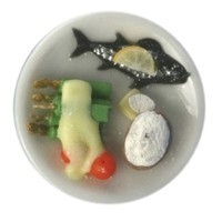Sale $2 Off - Dollhouse Individual Trout Dinner - Product Image