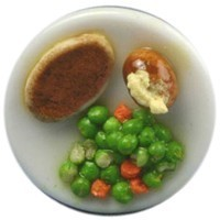Dollhouse Individual Roast Beef Dinner - Product Image