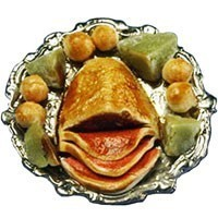 Dollhouse Corn Beef & Cabbage Dinner - Product Image