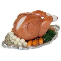 Dollhouse Deluxe Turkey Dinner - Product Image