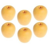 (**) 6 pc Yellow Apples - Product Image