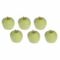 (**) 6 pc Green Apples - Product Image